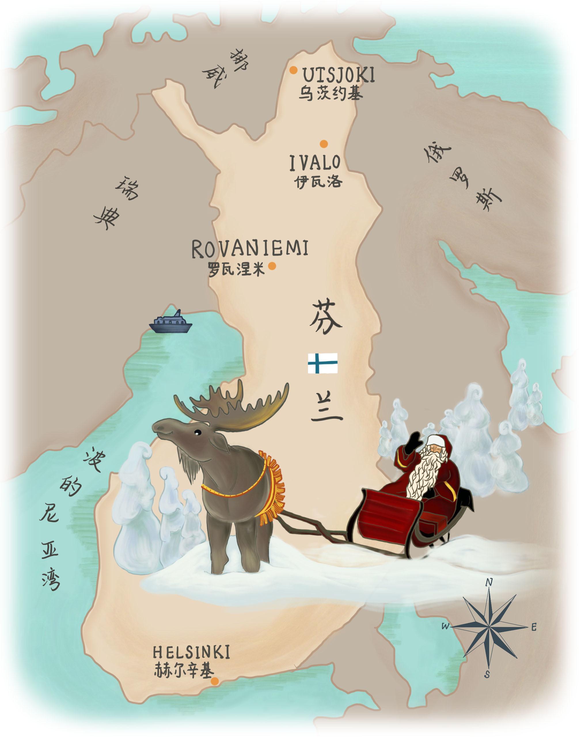 除了极光、皑皑白雪、圣诞老人和零下20度的气温。芬兰北部的拉普兰地区还生活着神秘的萨米人。他们曾经被...