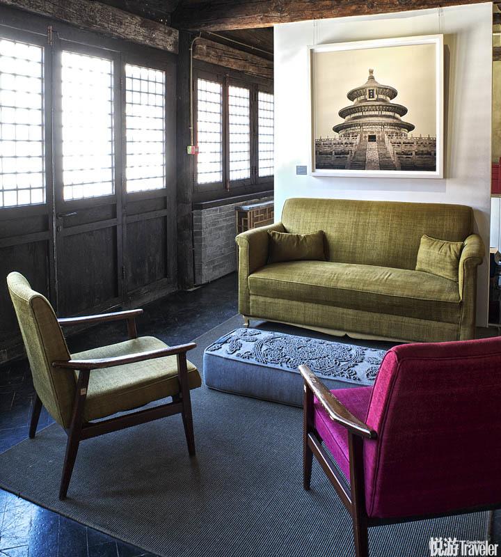 """北京The Temple Hotel:The Temple Hotel的建筑前身是真正的庙宇。""""露华""""""""牡丹""""""""清雅""""均由古旧僧寮..."""