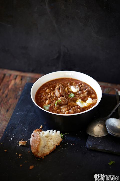 摩洛哥风味羊羔肉汤