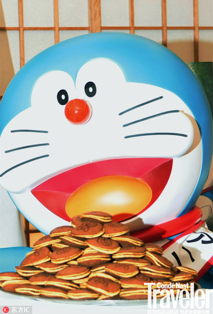 铜锣烧是哆啦A梦的心头好,三天不吃受不了! 为什么明明是机器猫,会酷爱这种甜甜的、豆沙馅儿的食物呢?...