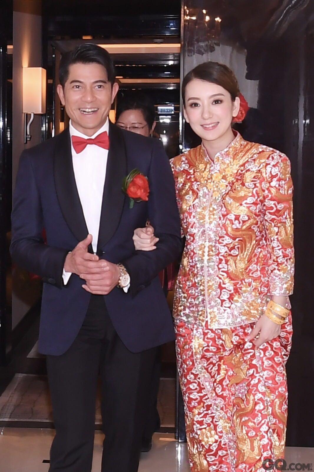 """日前,娱乐圈""""黄金单身汉""""郭富城在香港低调迎娶小22岁女友模特方媛。"""