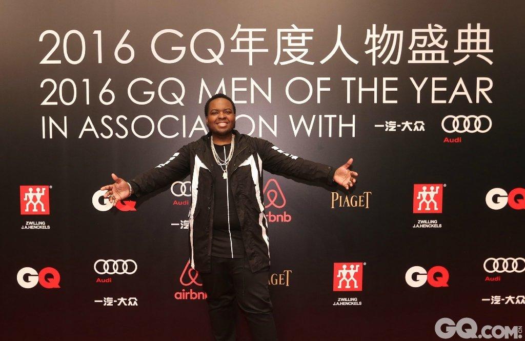 Sean·Kingston出席2016GQ年度人物盛典。