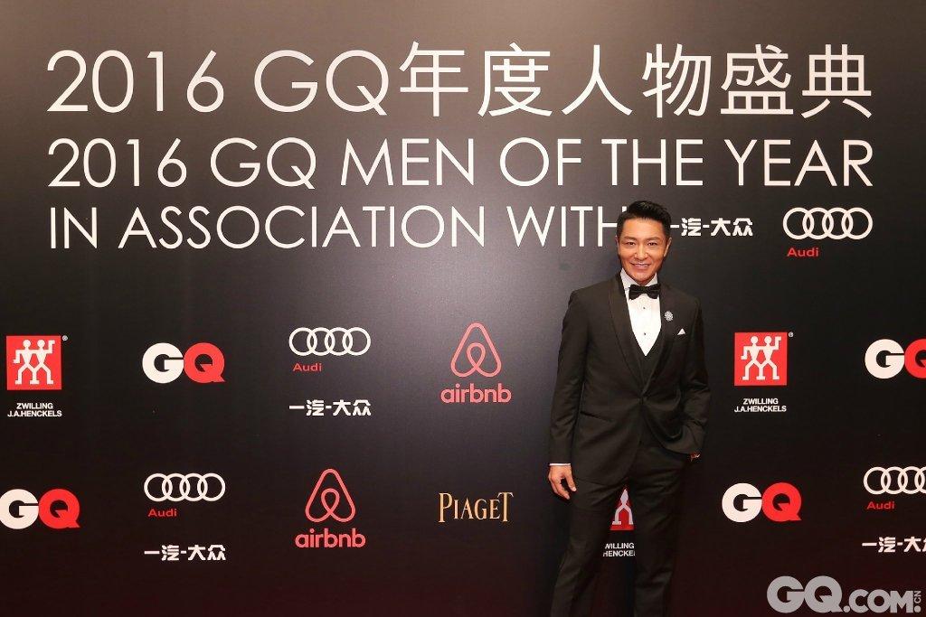 李宗翰出席2016GQ年度人物盛典。