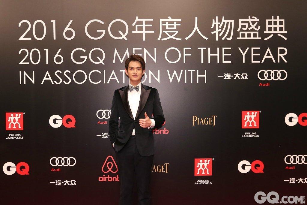 马可出席2016GQ年度人物盛典。