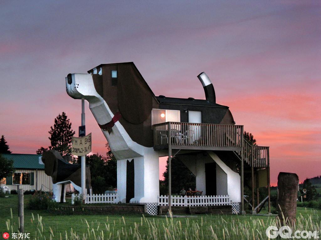 全世界充满想象力的建筑师们一直在创造一些动物形状的建筑物.
