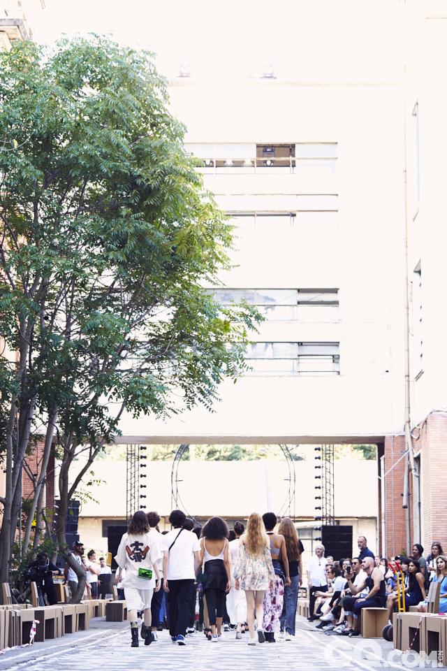 2018春夏男装周Hugo Boss秀场后台