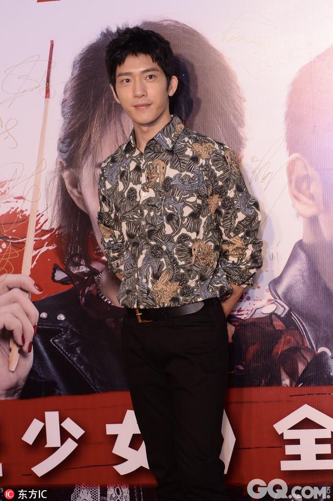 2017年7月16日,北京,众星出席《闪光少女》全球首映礼。