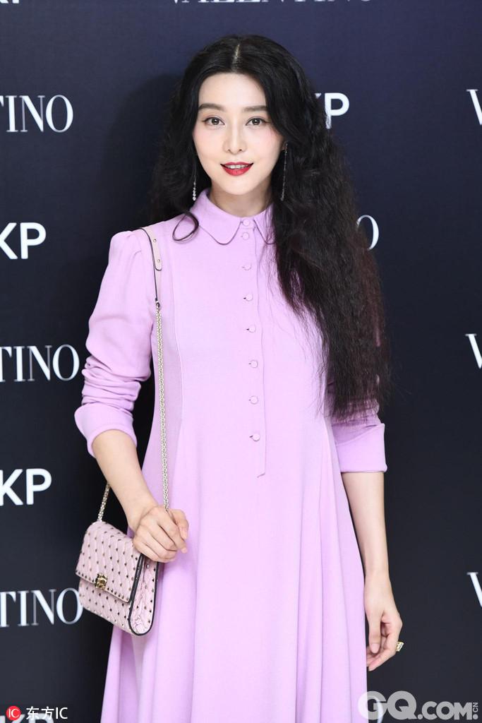 2017年8月9日,北京,众星出席Valentino品牌活动。