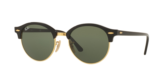 ray ban matte black clubmaster  ray-ban2016 clubround
