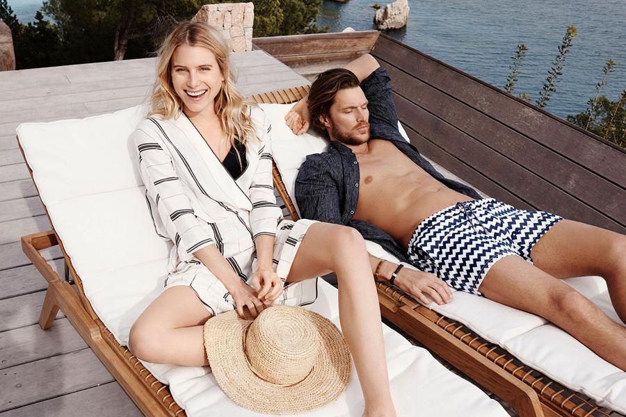 西班牙时尚品牌Massimo Dutti与巴西男模Massimo Dutti来了场旅行。春季出游的放松态度,自然的中性色为主,POLO衫、懒人鞋、运动夹克,提供了一系列旅行必备服装。
