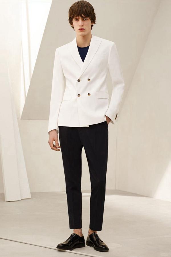 搭配白衬衫一样