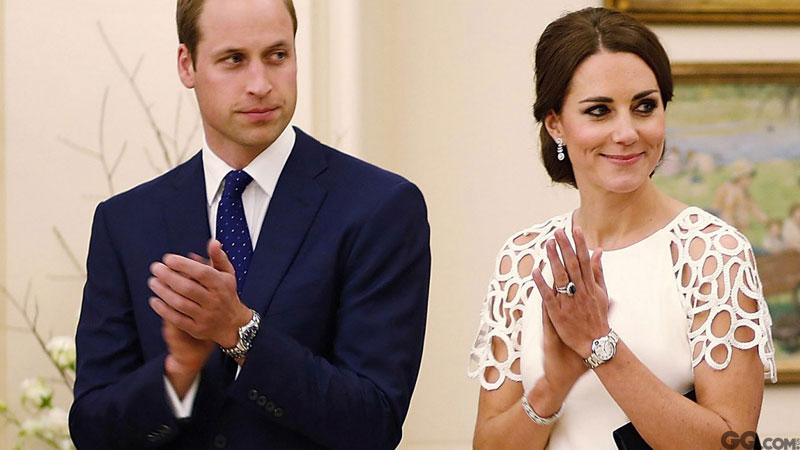最后,威廉王子夫妇鼓掌表示:特别好。
