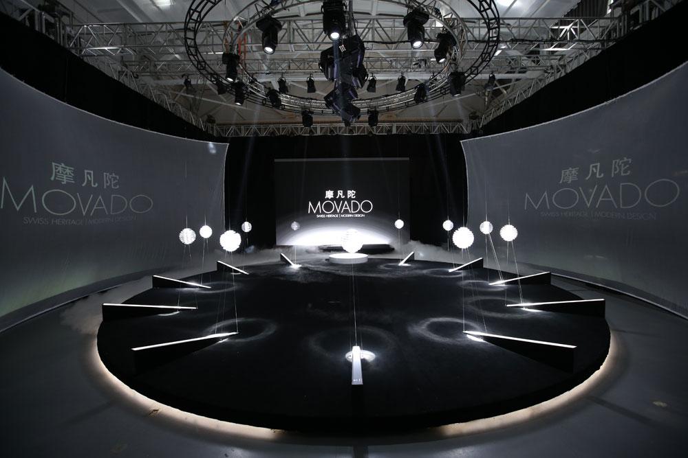 瑞士著名钟表品牌摩凡陀(MOVADO)携手著名影星杨烁、乐基儿,于北京郎园隆重举行全新瑞界(MOVADO EDGE)系列发布会。