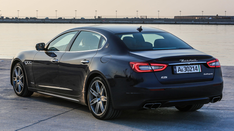 2017款玛莎拉蒂总裁(quattroporte)受到阿尔菲力coupe概念车的启发,对