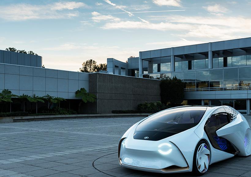 名副其实的科幻外观,以及采用人工智能AI驱动的设计概念给人一种这辆车真的是出自未来人之手一般。