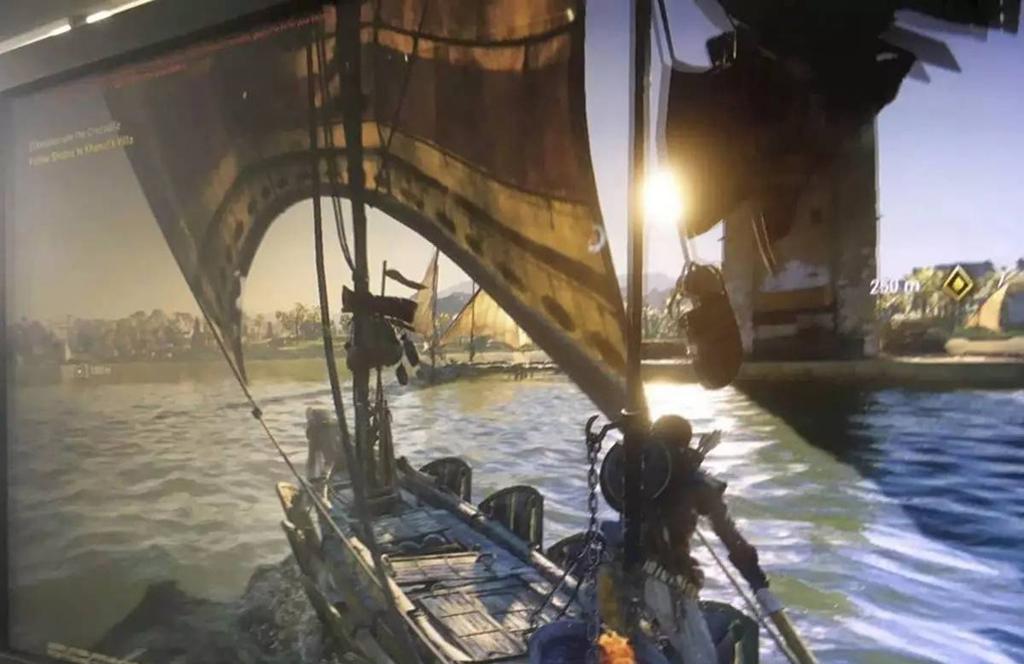 NO.3刺客信条:起源 育碧的最新作品《刺客信条:起源》会登录微软最新游戏主机Xbox one X。此款游戏中加入了大量的新元素,可以通过杀敌来收集装备。故事的背景发生在埃及,充满了神秘的故事,增加了探索元素。