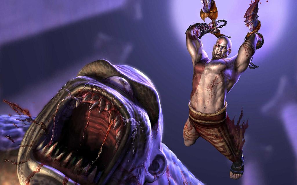 NO.9战神4 《战神4》中的主人公是奎爷,走下神坛的奎爷必须为了他的儿子和新的目标重新战斗,对抗强大的力量。
