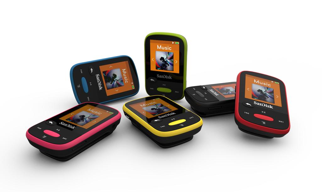 NO.1闪迪Clip Jam 最近有消息显示苹果已经停止更新iPod Nano及Shuffle,令人很惋惜,不过我们还是有很多选择的余地的,闪迪Clip Jam就是其中之一。闪迪Clip Jam是一款性价比比较高的产品,除了内置8GB闪存外,还可以通过micro SD卡扩展,机身按键也比较传统,很方便的控制音乐播放器。一共有黑、蓝、橙、绿、粉五种颜色可以选择,不过屏幕是黑白的,消费者可能需要适应一段时间。 参考价格:30美元(约合人民币203元)