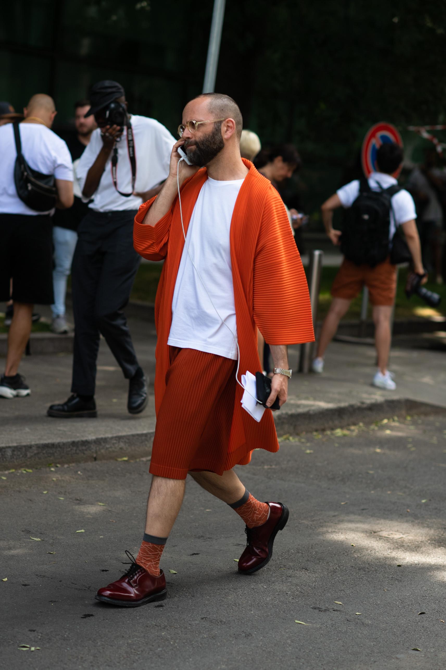 2019年6月米兰男装周街拍DAY1