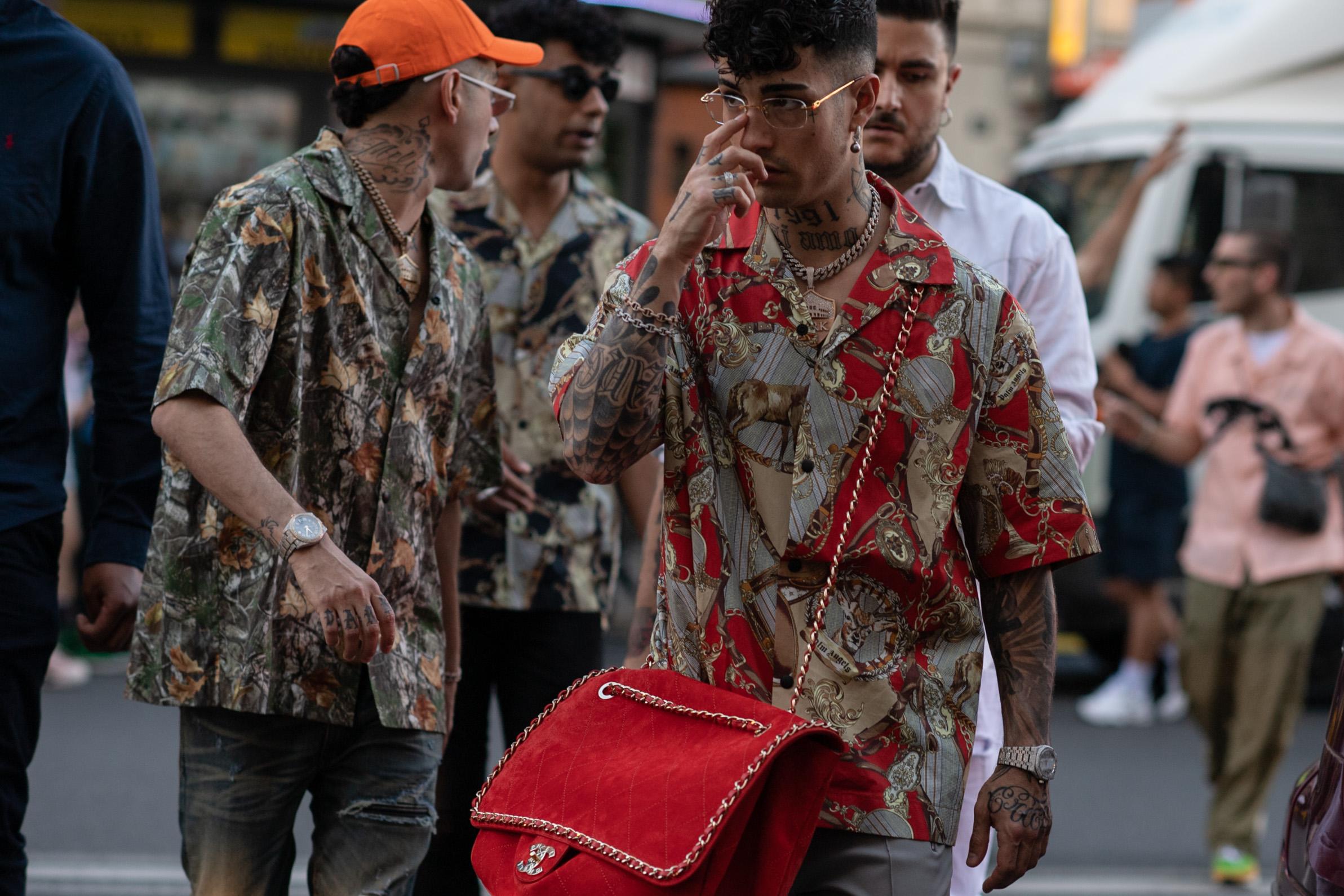 2019年6月米兰男装周街拍DAY2