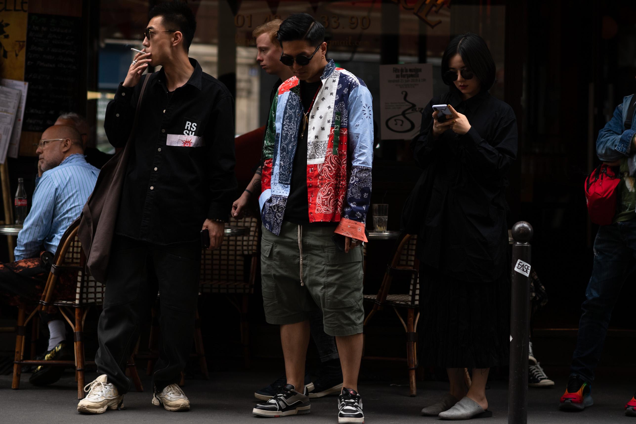 2019年6月巴黎男装周街拍DAY4