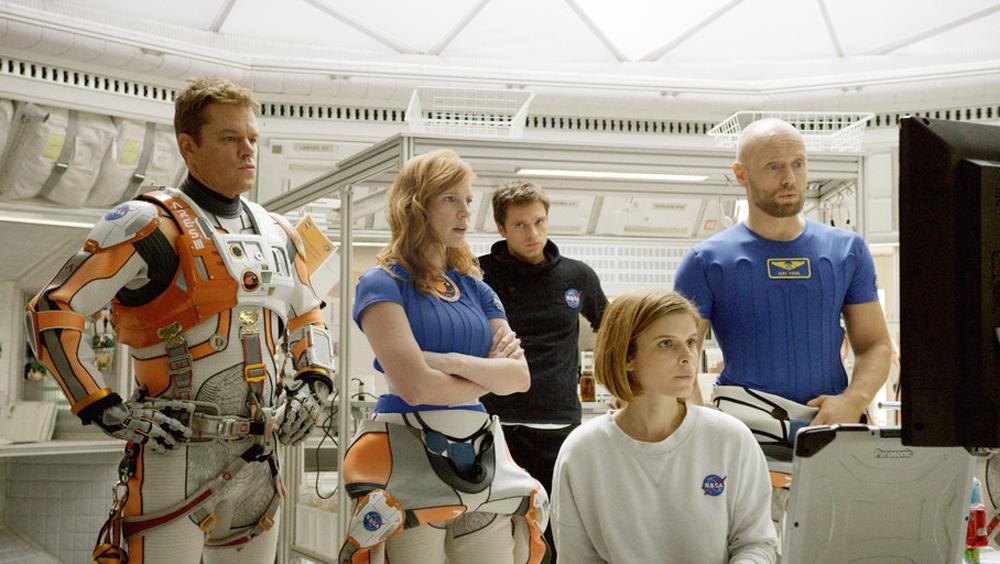 《火星救援》25日上映 马特·达蒙上演异星球历险记
