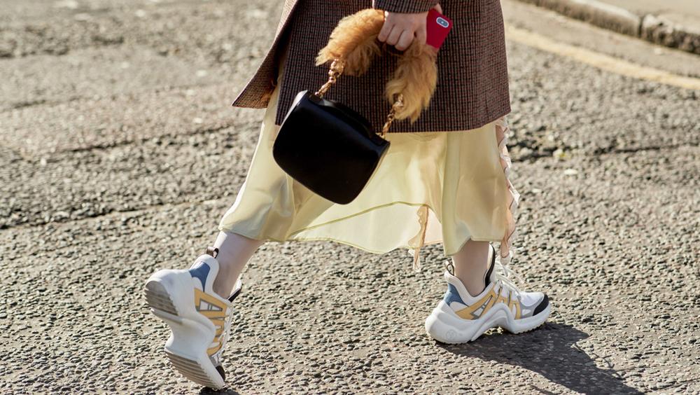 矮个子也能穿的运动鞋 穿起来真的显高