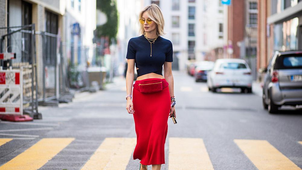 裙型选对了 怎么穿都显瘦