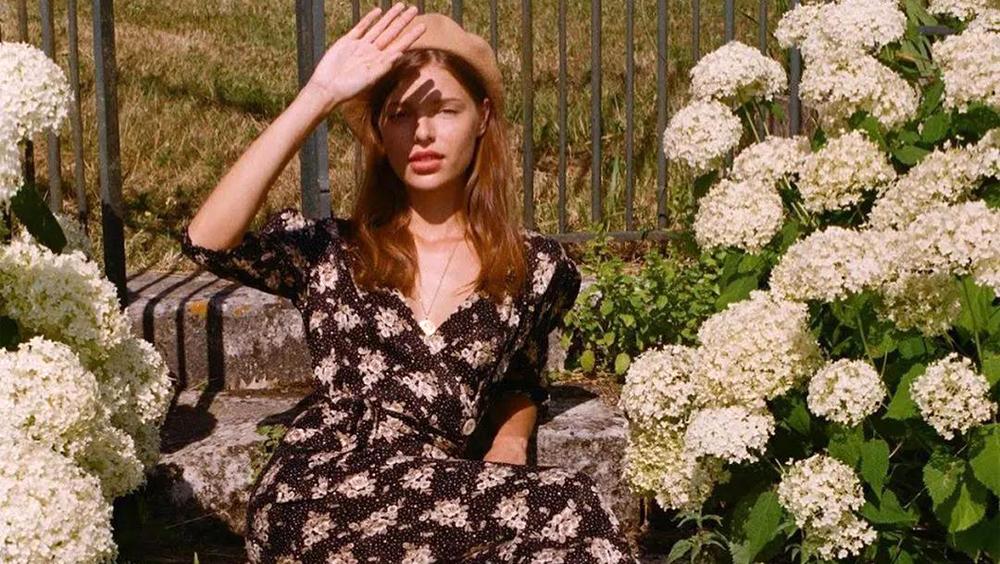 一條印花裙,代表了我對夏天的所有期待