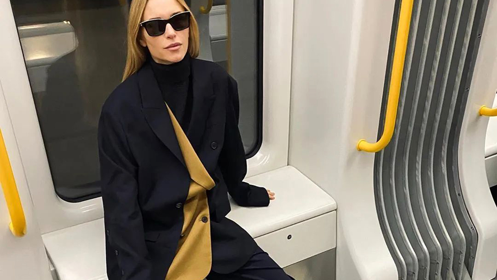 """""""女生换季式失明""""?一件时髦的西装就解决了"""