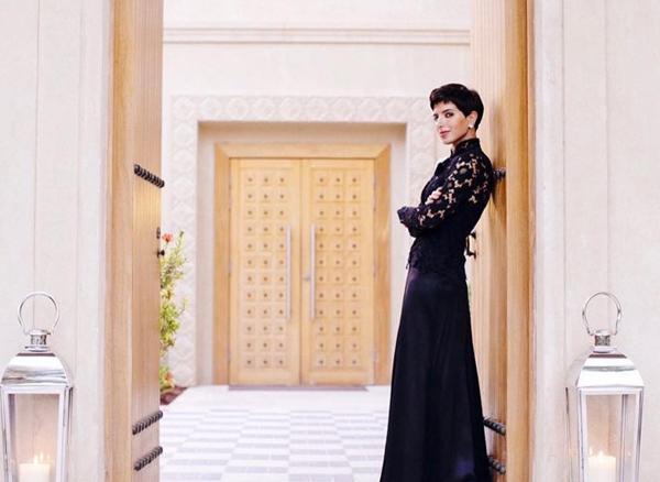 在裹着头巾穿着长袍的国度 诞生了最时髦王妃