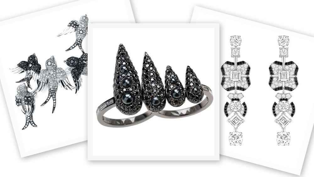 """珠宝界""""小黑裙"""" 时而优雅时而神秘的黑钻"""