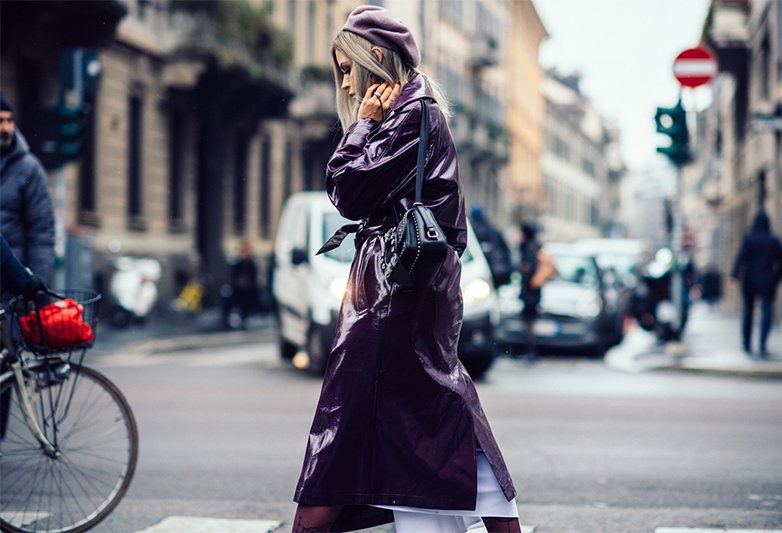 2018秋冬米兰时装周街拍Day2