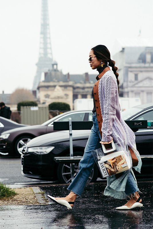2018秋冬巴黎时装周街拍 Day4