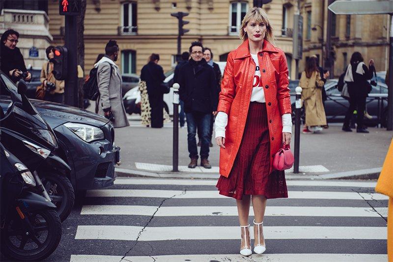 2018秋冬巴黎時裝周街拍 Day8