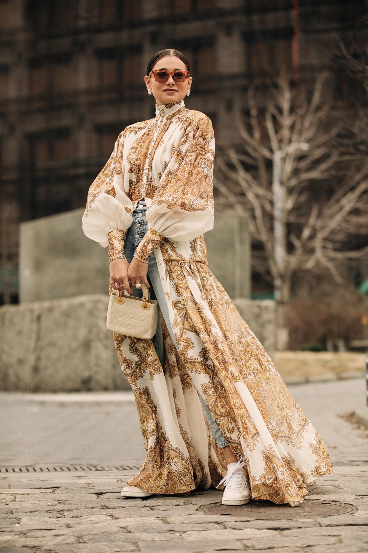 2019秋冬纽约时装周最佳街拍第五日
