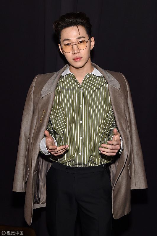 刘宪华助阵Marc Jacobs专场秀