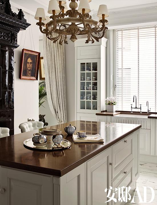 厨房欧式布艺图片