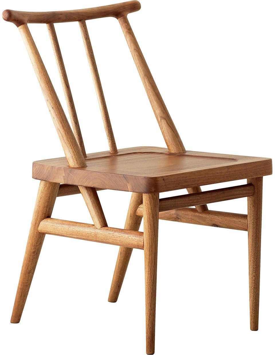 竹椅 现代的中式设计,灵感来自儿时坐的小竹椅;全