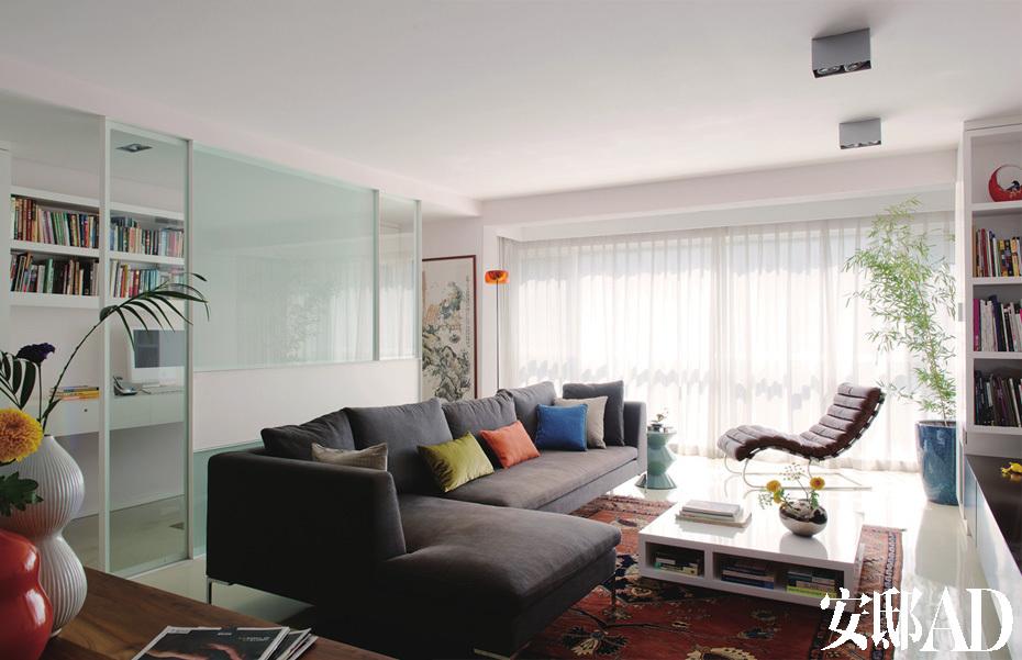 木板电视背景墙正方形凹槽图