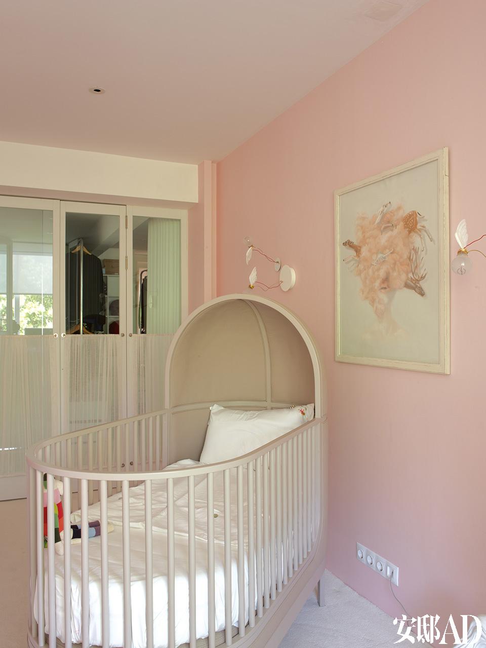 儿童房的小床也出自Autoban.