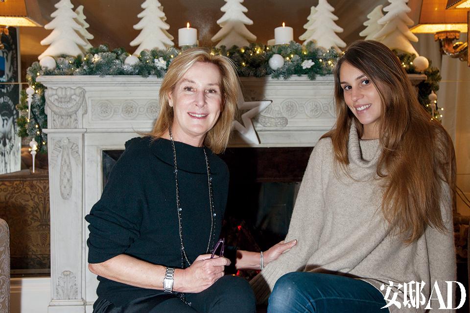室内设计师Stefania Di Girolamo和她的女儿Giulia一起为Grazia一家设计了这个公寓。