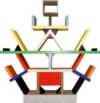 孟菲斯 & 索特萨斯 Color Geometry