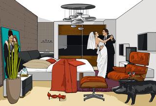 新房风水禁忌 Marital Bliss
