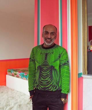 80m² | Lady Gaga蕾哈娜大爱的设计师,他家的色彩也疯狂!