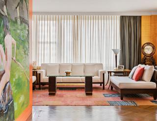 名门闺秀的曼哈顿公寓,东西交融的优雅印迹