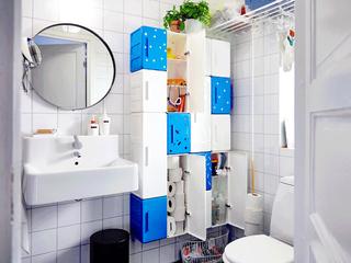 用这些浴室收纳神器,让你精致到骨髓