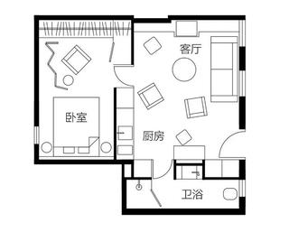 """43m²,不被""""数码""""掌控的家什么样?"""