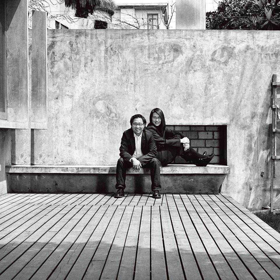 郭锡恩(左)胡如珊(右)