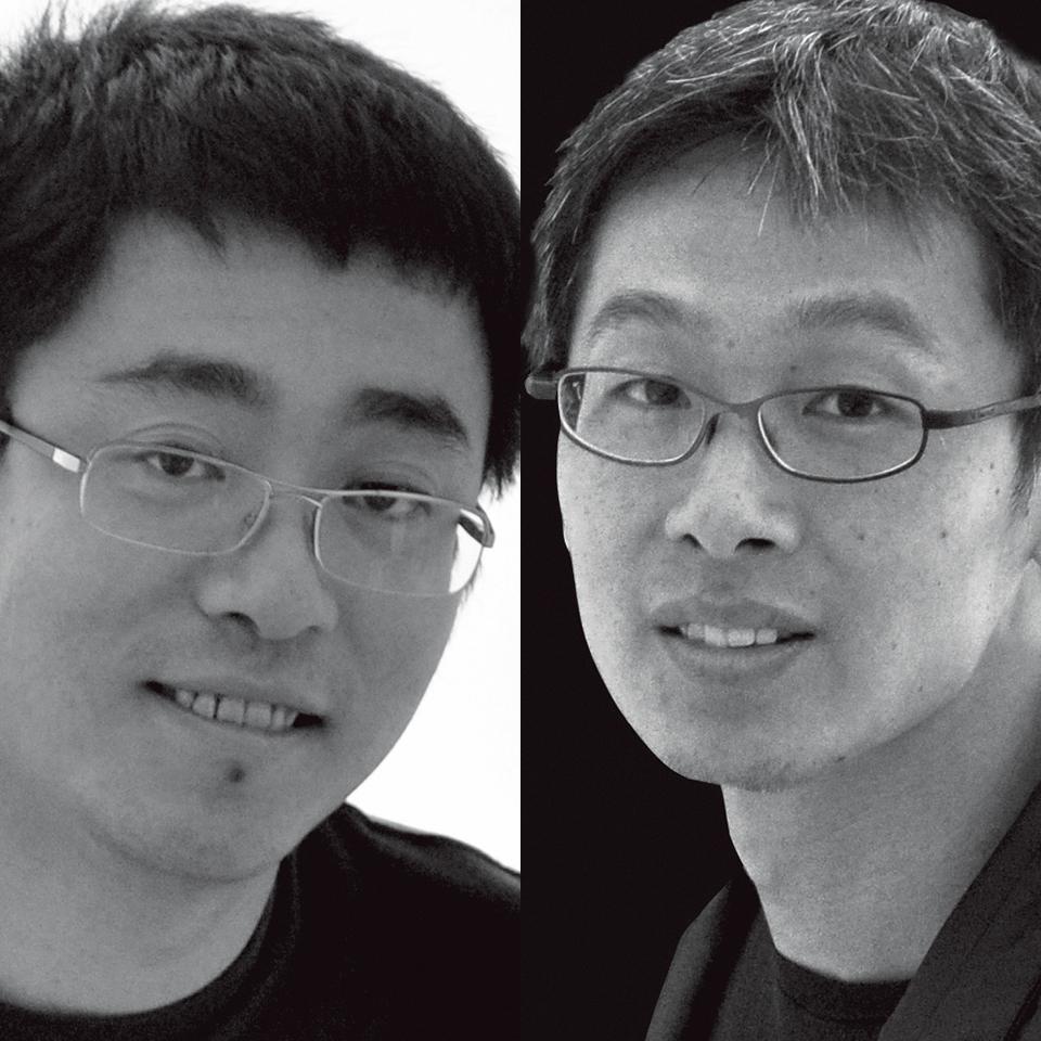 陈屹峰(左) 柳亦春(右)
